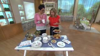 Lenox Butterfly Meadow 24-pc. Porcelain Dinnerware Set With Rachel Boesing