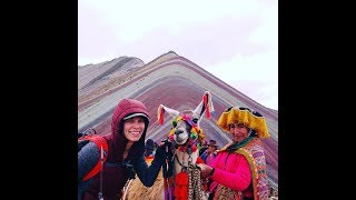 How To Overlay and Straddle Timelines. Rainbow Mountain, Peru