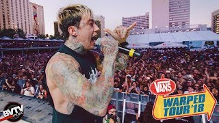 "Falling In Reverse   ""Losing My Life"" LIVE! @ Warped Tour 2018"