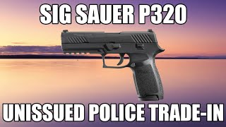 Sig Sauer P320 Pistol Full Size .40 Cal W / Night Sights, Police Trade-ins - Used / Unissued - W / 3-13 Rd Mags