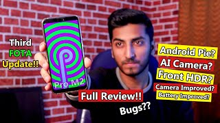 Asus ZenFone Max Pro M2 Third FOTA Update Full Review!! Android Pie, Fast Charging, AI Camera??