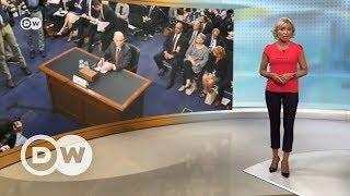 """Генпрокурор США отчитался в Сенате по """"российскому делу"""" - DW Новости (14.06.2017)"""