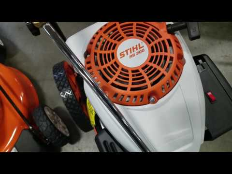 Stihl RB200 and RB400 Pressure Washer Review