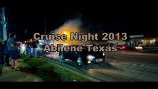 Cruise Night 2013, Abilene Texas