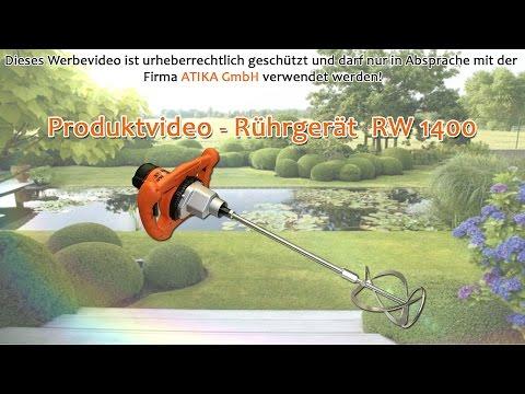 ATIKA Produktfilm - Rührgerät RW 1400