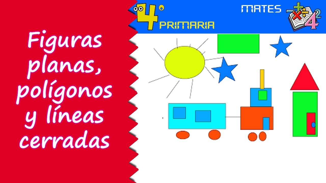 Matemáticas. 4º Primaria. Tema 10. Figuras planas, polígonos y líneas cerradas