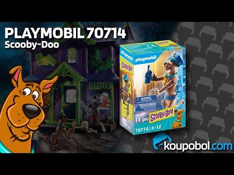 Vidéo PLAYMOBIL Scooby-Doo! 70714 : Scooby-Doo Policier