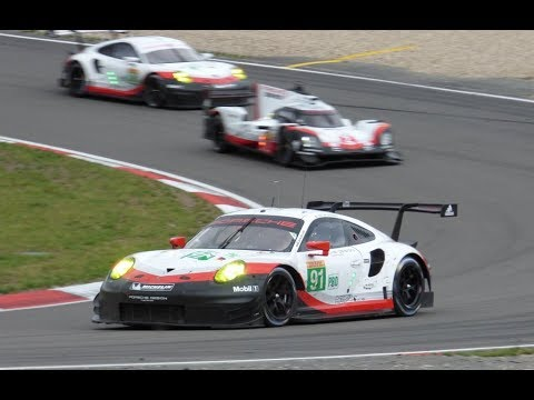 Porsche 991 RSR pure loud Sound Porsche GT Team WEC 6h Nürburgring