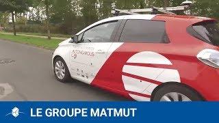 Signature du partenariat Rouen Normandie Autonomous Lab - Matmut - YouTube