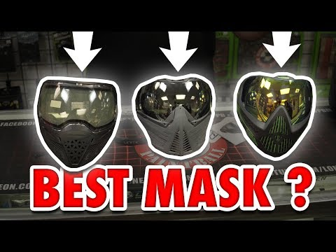Which is the BEST Paintball Mask | Empire EVS vs Push Unite vs Dye I5 | Goggle Comparison