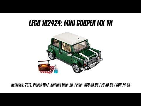 Vidéo LEGO Creator 10242 : Mini Cooper MK VII