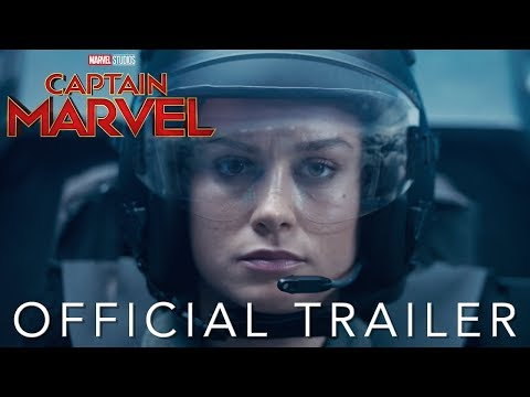 Amerikaanse superheldenfilm 'Captain Marvel' in Meerpaal-bioscoop