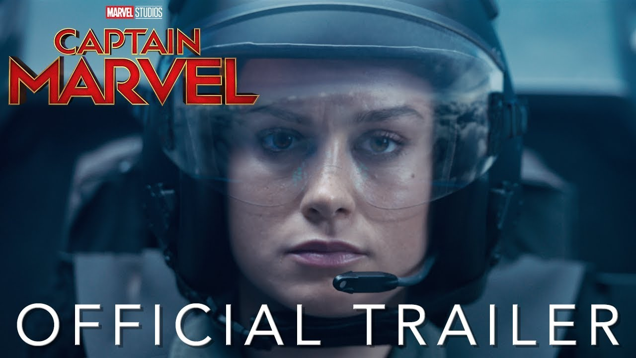 Captain Marvel – Official Trailer Marvel Studios