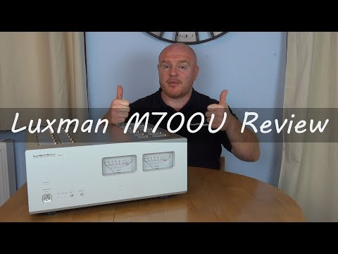 Luxman M700 Ultimate Full Review HiFi Stereo Power Amplifier M 700 U
