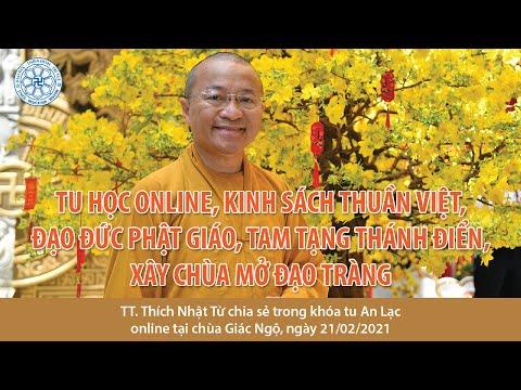 Tu học online, Tam tạng Thánh điển, xây chùa mở đạo tràng