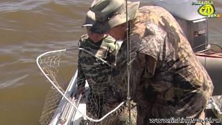 Рыбалка с чернушенко на озере