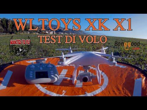 TEST DI VOLO WLTOYS XK X1 ITA