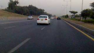 preview picture of video 'Islamabad Express way ( Khanna Pul to AirPort Chowk)'