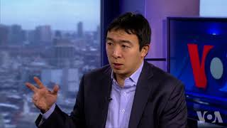 华裔美国总统参选人接受VOA专访