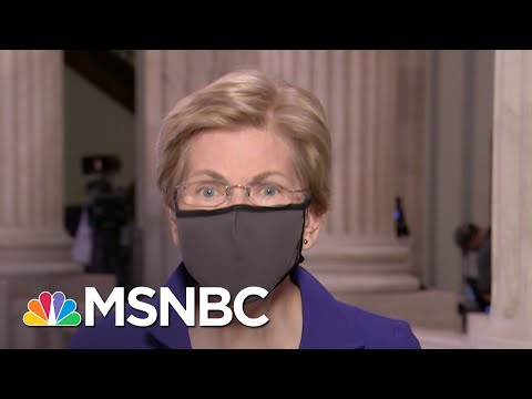 Elizabeth Warren: Trump 'Doesn't Seem To Care' About Those Impacted By The Pandemic | The ReidOut