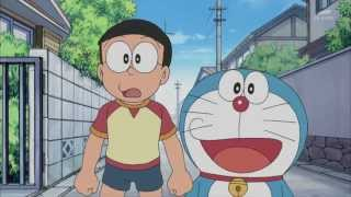 銀光字幕組 新哆啦A夢 335 相反世界鏡&大雄的秘密隧道(2013年6月21日放送)