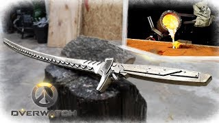 Casting A Bronze Katana   Genji Sword (OVERWATCH)