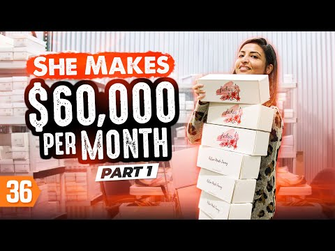 , title : 'How Afshan Makes $60K/Month From Her Shoes Business (Pt. 1)