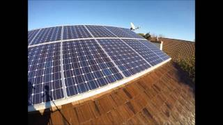 Solar Panel Cleaning in Los Gatos / San Jose CA Step 2