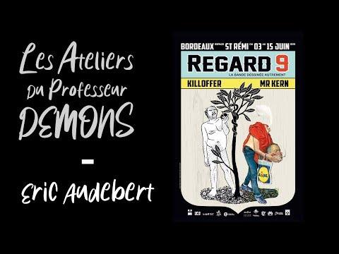 Rencontre avec Eric Audebert le directeur artistique du Festival Regard 9 et fondateur de l'association 9-33 à l'initiative des Ateliers du Professeur Demons.