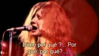 Janis Joplin Ball and Chain subtitulado al español