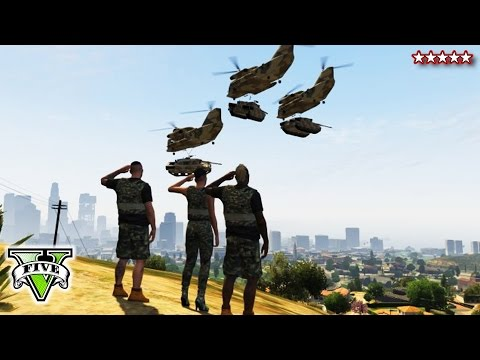 GTA 5 ATTACKING THE BASE - GTA Online Military Base Takeover - GTA Base Bloody Massacre Mp3