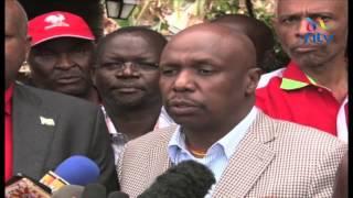 Kanu snubs Raila and backs Uhuru - VIDEO