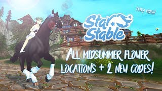 All flower locations & 2 new codes! | Star Stable Updates