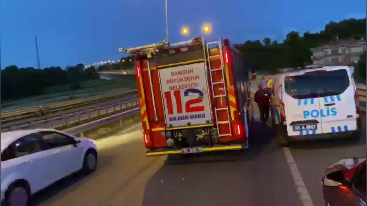 Kontrolden Çıkan Alkollü Sürücü Bariyerlere Çarptı: 1'i Ağır 2 Yaralı