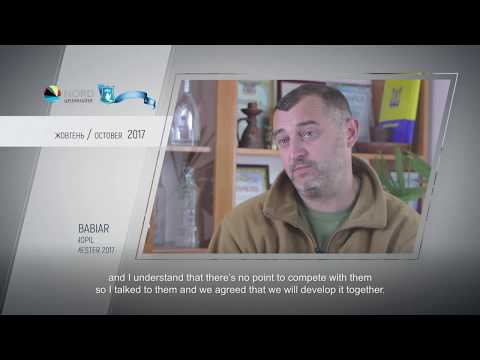 Video feedback of Andrii Babiar, graduate of the Ukraine-Norway project