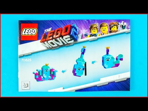 LEGO MOVIE 2 70825 Queen Watevra's Build Whatever Box! C Construction Toy - UNBOXING