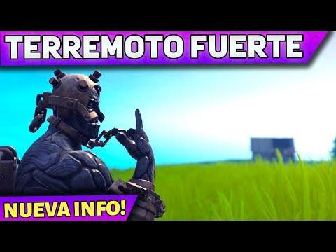 El Temblor Más Fuerte Hasta El Momento - Fortnite Temporada 8