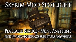 Skyrim Mod Spotlight: Placeable Statics - Move Anything by iceburg