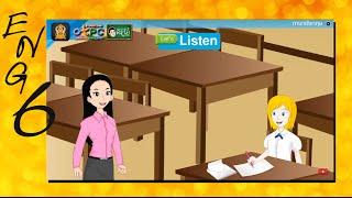 สื่อการเรียนการสอน There are eight people in my family (สมาชิกในครอบครัว) ป.6 ภาษาอังกฤษ
