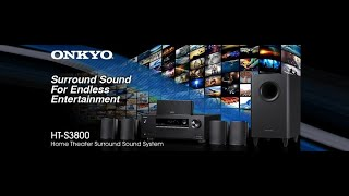 Onkyo 5.1 Channel Home Theater System HT-S3800 #RT395 #ONKYO RECEIVER II Unboxing ONKYO HT-S3800