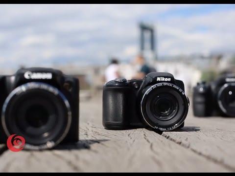 Canon SX510, Nikon L830, Sony H400 SuperZoom Comparison