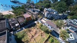 Cinewhoop flying in an abandoned village 2 (Cinematic FPV video by GoPro Hero 6) 2.7K