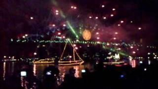 2009 New Year Fireworks, Sydney Australia Part 2 of 2