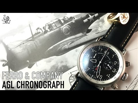 Ferro & Company – The Above Ground Level Watch Review – The Best Aviation Chronograph Under $300?