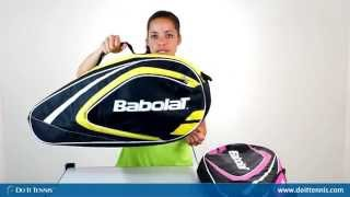 Babolat Club Line Racket Holder x 3 Wimbledon video