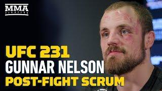 UFC 231: Gunnar Nelson Talks