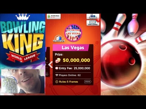 Bowling King Las Vegas! 50 MILLION!