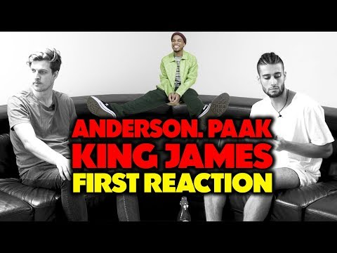ANDERSON .PAAK - KING JAMES REACTION/REVIEW (Jungle Beats)