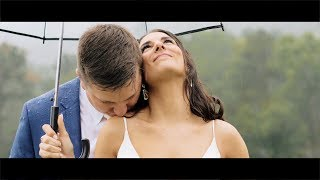 Megan + Ian's Rainy Wedding Day in the Blue Ridge Mountains