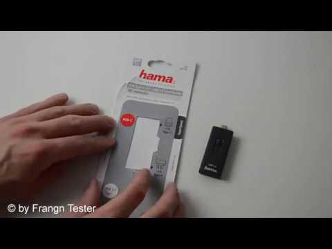 Hama USB-C Kartenleser (00124145)